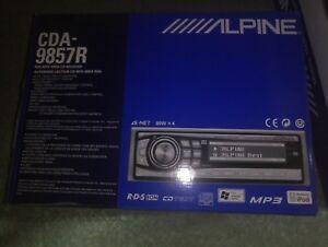 RADIO COMPAC ALPINE CDM-9857R