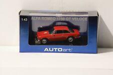 1/43  Autoart #50101 ALFA ROMEO 1750 GT VELOCE Red w Free ship!