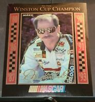 1993 Maxx Chrome Dale Earnhardt Sr. 8x10 Six-Time Winston Cup Champion /80,000
