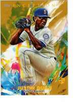 Justin Dunn 2020 Topps Inception 5x7 Gold #51 /10 Mariners