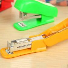 Paper Stationery Mini Tools Document Clip Stapler Office Supplies Staple Gift