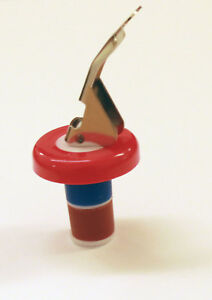 10x Stainless Steel Bottle Stopper Red Wine Sealer Saver Re-sealler Champagne