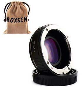 Focal Reducer Speed Booster Adapter Pentax K mount PK lens to Micro 4/3 GX7 M43