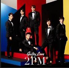 KPop 2PM Guilty Love (CD, regular edition) w/ photo card Japan Release