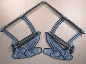 1968 OLDSMOBILE CUTLASS,  F85 - REBUILT HOOD HINGES