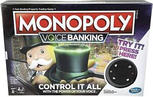 Monopoly Voice Banking Electronic Family Board Game New