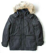 Tommy Hilfiger Mens Long Parka Jacket with Faux Fur Hood...