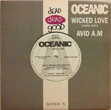 """OCEANIC - WICKED LOVE (RADIO MIX) 7"""" VINYL SINGLE 1990s DANCE NM/NM"""