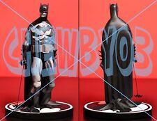 MIKE MIGNOLA BATMAN BLACK AND WHITE STATUE |beyond|joker|miller|bermejo|maquette