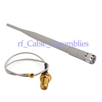 5GHz 5dbi omni directional WIFI Antenna RP-SMA wireless router+ RP SMA IPX cable