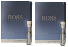 2 x 2ml Hugo Boss Pure EDT Perfume Sample Vial Mini Travel Size