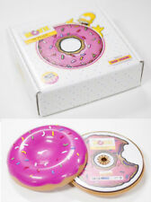 THE SIMPSONS MOVIE SOUNDTRACK CARTOON COLLECTOR LIMITED EDITION DONUT CD - NEW