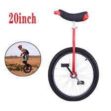 "20"" Adult Wheel Unicycle Tire Height Skidproof Cycle Cycling Exercise Adjustable"