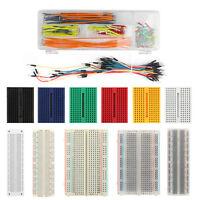 Breadboard 830 400 700 170 Point Solderless Prototype PCB Board + Jumper Wire UE