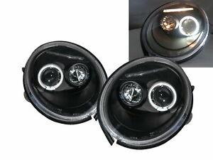 Beetle NEW TURBO S 95-05 2D LED Feux Avant Phare Black EU for VW Volkswagen LHD