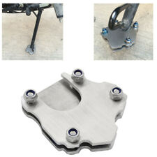 1pcs Motorcycle Kickstand Side Stand Extension Foot Plate Pad (Larger Type)