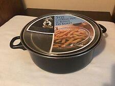 Euro-Ware 5 QT Cooking Pot w/ Lid Handles W/ Bonus Fry Basket