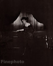 1912 Female Prostitute By E.J. Bellocq Vintage New Orleans Louisiana Photo Art