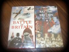 2 x VHS PAL tapes Battle of Britain (The fight for survival)