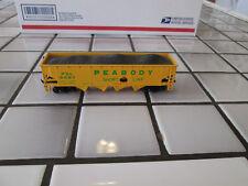 bachmann Peabody hopper car with load Ho Scale