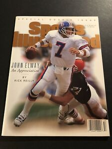 1996 Sports Illustrated Denver JOHN ELWAY SI NewsStand AN APPRECIATION No Label