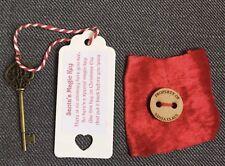 Santa's Magic Key Elf Shelf Lost Button Christmas Eve Box Xmas Stocking