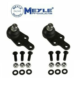 For Jaguar X-Type Set of 2 Front Lower Suspension Ball Joint Meyle 7160100016