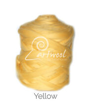 Yellow  -  1 kg 100% Merino Wool Giant Chunky Yarn Arm Knitting