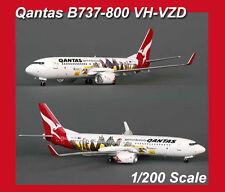 1/200 Qantas Geelong Frequent Flyer Boeing 737-800 Diecast VH-VZD BBOXQFA02 Ltd