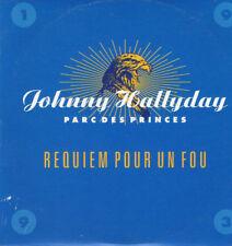 JOHNNY HALLYDAY  / Requiem pour un fou - CD-promo