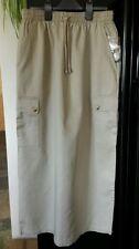 Unbranded Calf Length Cotton Regular Size Skirts for Women
