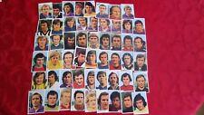 Oude VOETBAL prentjes 1973 1974 57 stuks plaatjes Panini like FOOT