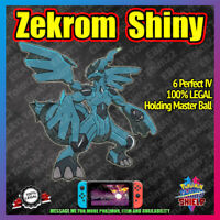 ZEKROM Square Shiny + Master Ball | 6IV | Pokemon Sword Shield [FAST DELIVERY]