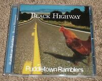 Black Highway Puddletown Ramblers~RARE Private 2005 NW Bluegrass Country CD~FAST