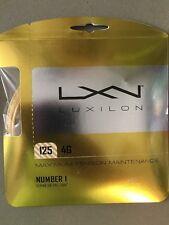 Luxilon 4G 125 16L Tennis String - 1 set