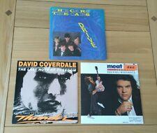 "AOR Job Lot 3x UK 7"" The Cars David Coverdale Meat Loaf John Parr Classic Rock"