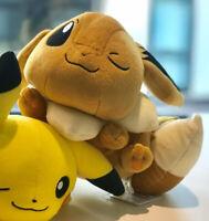Brand New Winking Eevee Pokemon Japan Authentic Cute Plush