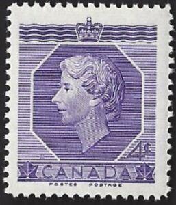 Canada    # 330   QUEEN ELIZABETH II CORONATION   New Original 1953 Pristine Gum