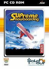Supreme PC CD ROM Snowboarding Game Ultimate Snowboarding Experience