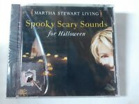 Martha Stewart Living Spooky Scary Sounds for Halloween by Various Artists CD