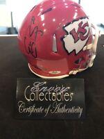 Eric Berry Kansas city Chiefs Mini Helmet autographed RIDDELL With COA ENVOY