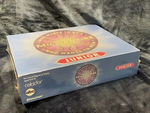 Who Wants To Be A Millionaire Junior Pressman Board Game NEW Sealed 2000
