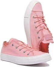 Converse Women's Chucks Pink Chuck Taylor All Star Bleached Coral Pink uk 4