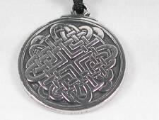 Celtic love Knot, Handmade pewter pendant, Relationships, passion