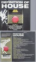 CD--VARIOUS -- --2CD -- DEFINITION OF HOUSE VOL.1