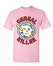 Cereal Killer T-Shirt Funny Breakfast Morning Meal Serial Killer Mens Tee Shirt