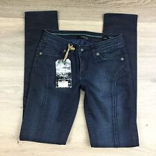 Stitch's Black Label Hayden Fade Skinny Women's Jeans Size 24 NWT RRP$420 (T17)