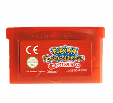 Nintendo GBA Video Game Console Card Cartridge Pokemon Mystery Dungeon