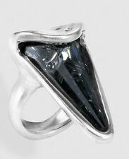 UNO DE 50 ° Anillo BLAKIE GRIS  - cristales Swarovski® Element - 12 - ø16,5