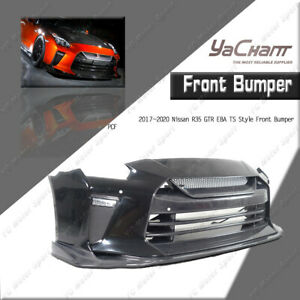PCF Front Bumper  w/o DRL Kit Fit For 2017-2020 Nissan R35 GTR EBA TS Style